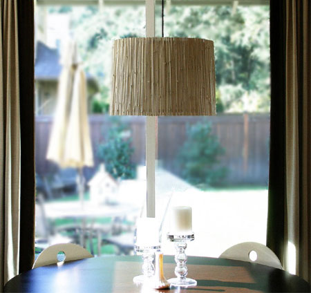 Home Dzine Crafts Upcycle A Bamboo Blind Into A Lamp Shade