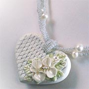 Make jewellery with polymer clay