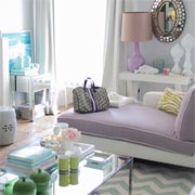 A home decorated with pastel shades