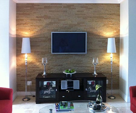 Home Dzine Home Improvement Add Wall Cladding
