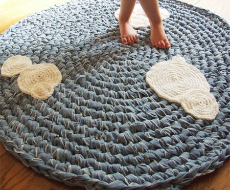 Crocheting A Rug : take a look at a few rug designs made by morgan at king soleil named ...