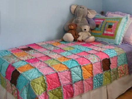 HOME DZINE Craft Ideas | How to make a patchwork quilt : make patchwork quilt - Adamdwight.com