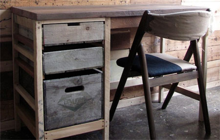 Reclaimed timber designer furniture