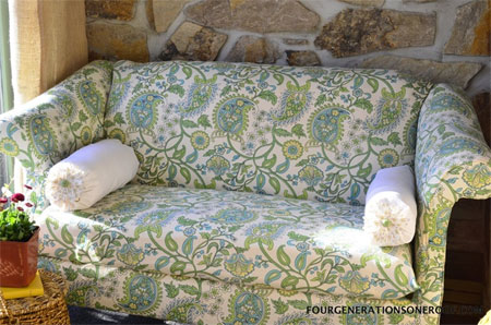 HOME DZINE Craft Ideas   How to reupholster a sofa or couch