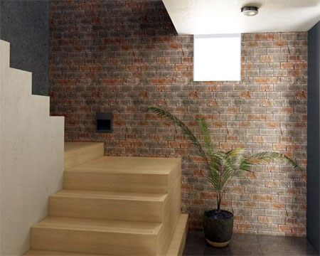 Brick Veneer Cladding For Walls