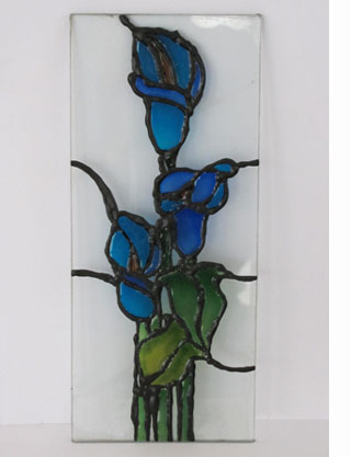Painted Glass Panels