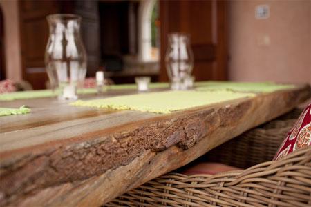 home dzine kitchen concrete countertops that resemble wood