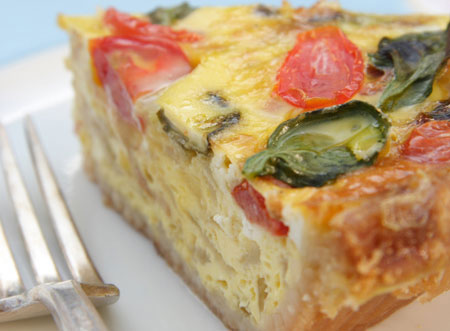 Serve up quiche for meals and entertaining