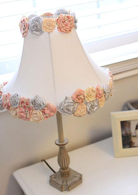 Home Dzine Craft Ideas Repurposed Lamp Shade For Nursery