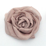 Easy fabric roses