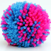 How to make colourful pom-poms