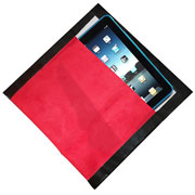 ipad clutch holder with fabric and duct tape...!