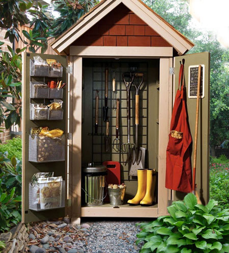 Home dzine home diy build a basic garden shed for Garden shed pictures