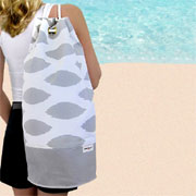 Make a designer beach bag