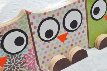 Home Dzine Craft Ideas Make These Cute Wooden Owls