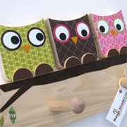 Make these cute wooden owls