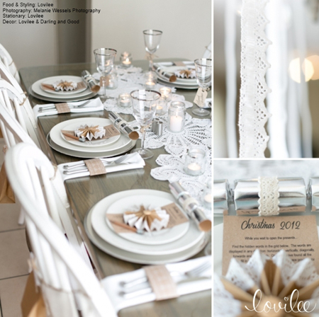 HOME DZINE Craft Ideas | French vintage table setting
