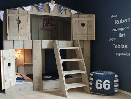 Home Dzine Bedrooms Indoor Treehouse Beds