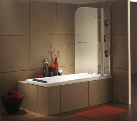 Home Dzine Bathrooms Convert To Bath Shower Combination