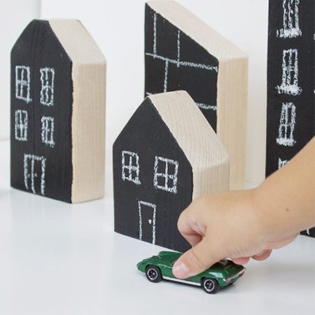 chalkboard blocks Gifts you can make for children