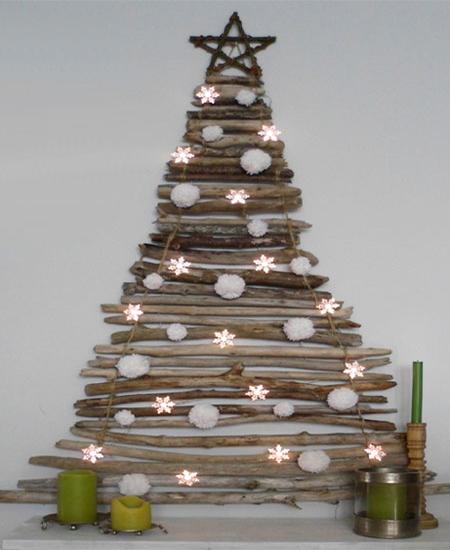 HOME DZINE Craft Ideas | Driftwood Xmas trees & ornaments
