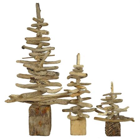 Home dzine craft ideas driftwood xmas trees ornaments - Sapin de noel en bois ikea ...