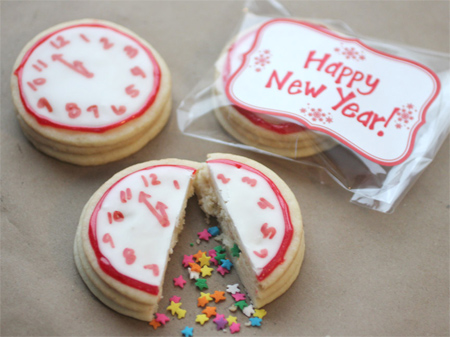 New Year's Eve cookie surprise