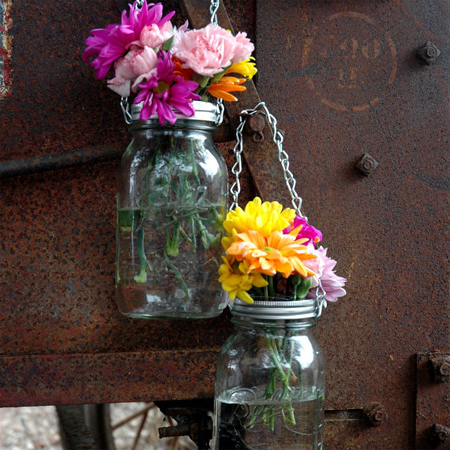 mason jar ideas unique plant containers