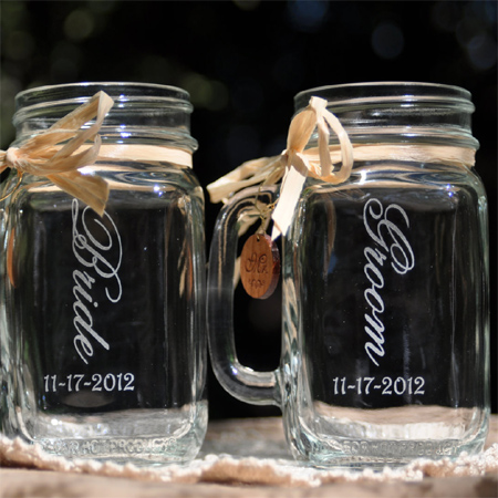 mason jar ideas engraved with dremel tool