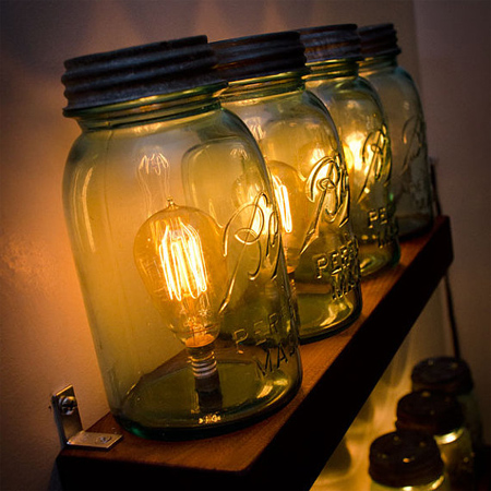 mason jar ideas unique light fittings