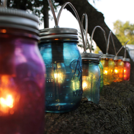mason jar ideas outdoor lights