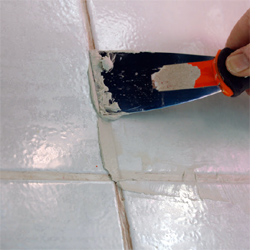 Home Dzine Bathrooms Restore And Refresh Tile Grout