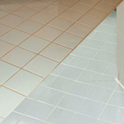 Remove and replace grubby grout