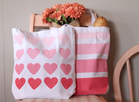 Great gift idea - Make & paint a tote bag