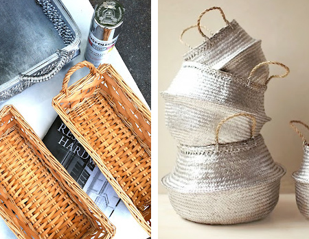 rustoleum spray paint baskets