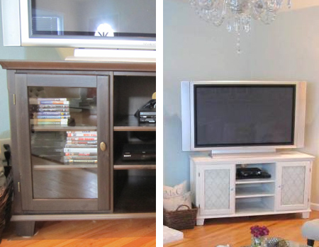 rustoleum spray paint for tv cabinet or furniture