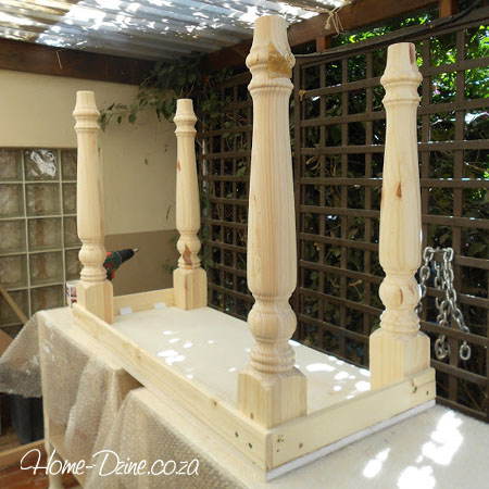 Make A Console Table With Faux Lacquered Finish