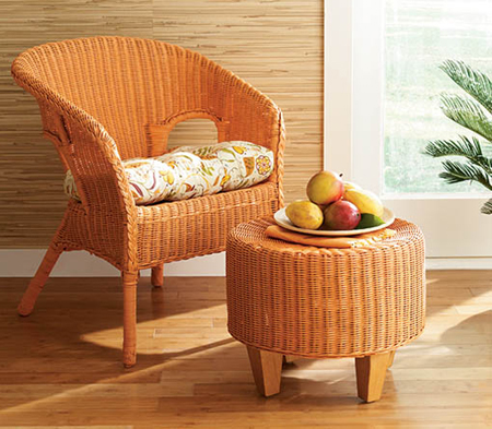 Beau How To Paint Wicker Furniture