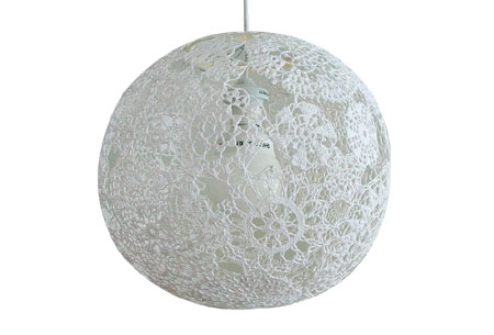 Doily Lamp Shades