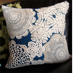 Home Dzine Craft Ideas Crafts With Doilies And Lace