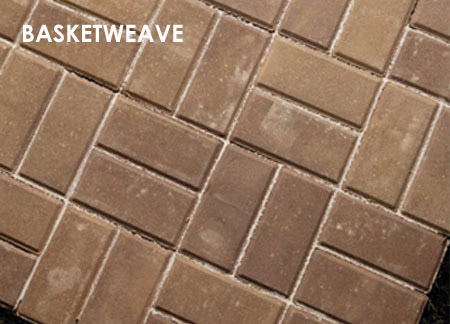 Home Dzine Garden Paving Patterns For Concrete Or Clay Brick
