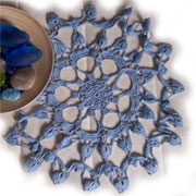 How to crocket a doily