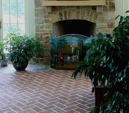 Choose A Natural Clay Brick Floor