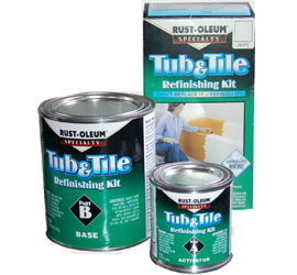 Rust Oleum Have A Specialty Range That Is Perfect For Painting Cast Iron,  Ceramic Or Porcelain. Rust Oleum Tub U0026 Tile Refreshing Kit Is A 2 Part  Epoxy Paint ...