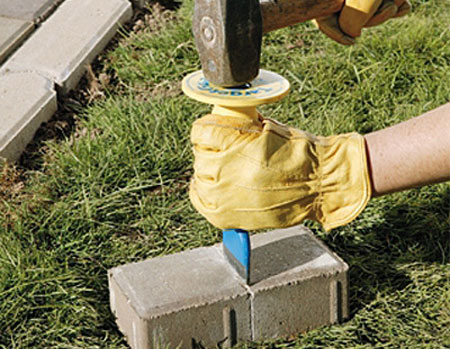 Home Dzine Diy Paving Patters For Concrete Or Clay