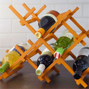 Simple yet contemporary wine rack