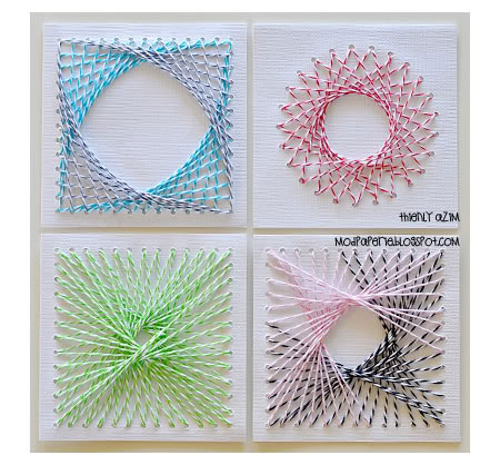 Home dzine craft ideas string art makes a comeback - String art modele ...
