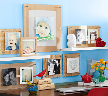 HOME DZINE Home DIY | Large or small format photo frames