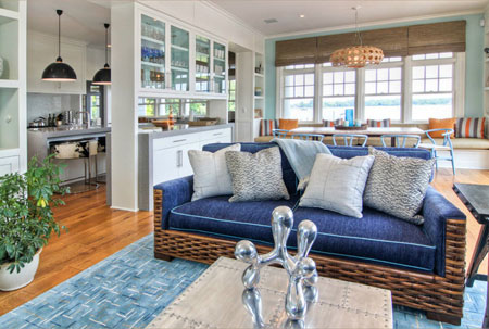 Home dzine home decor interiors by willey designs for Beach themed interior design