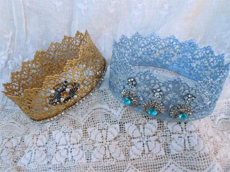 Home Dzine Craft Ideas Crown For A Little Princess